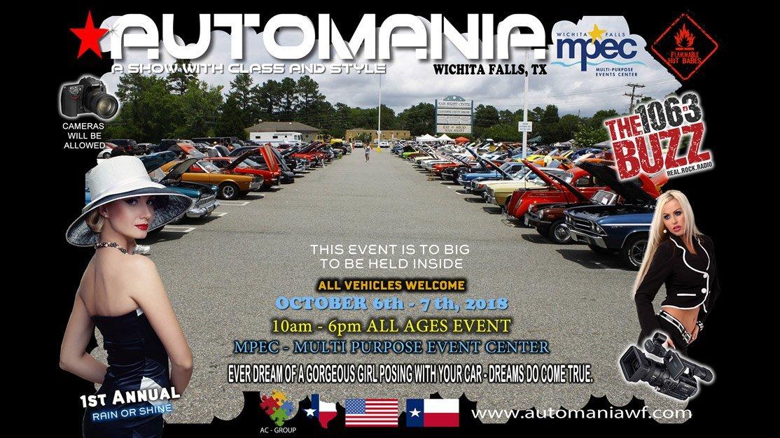 Automania @ Ray Clymer Exhibit Hall | Wichita Falls | Texas | United States