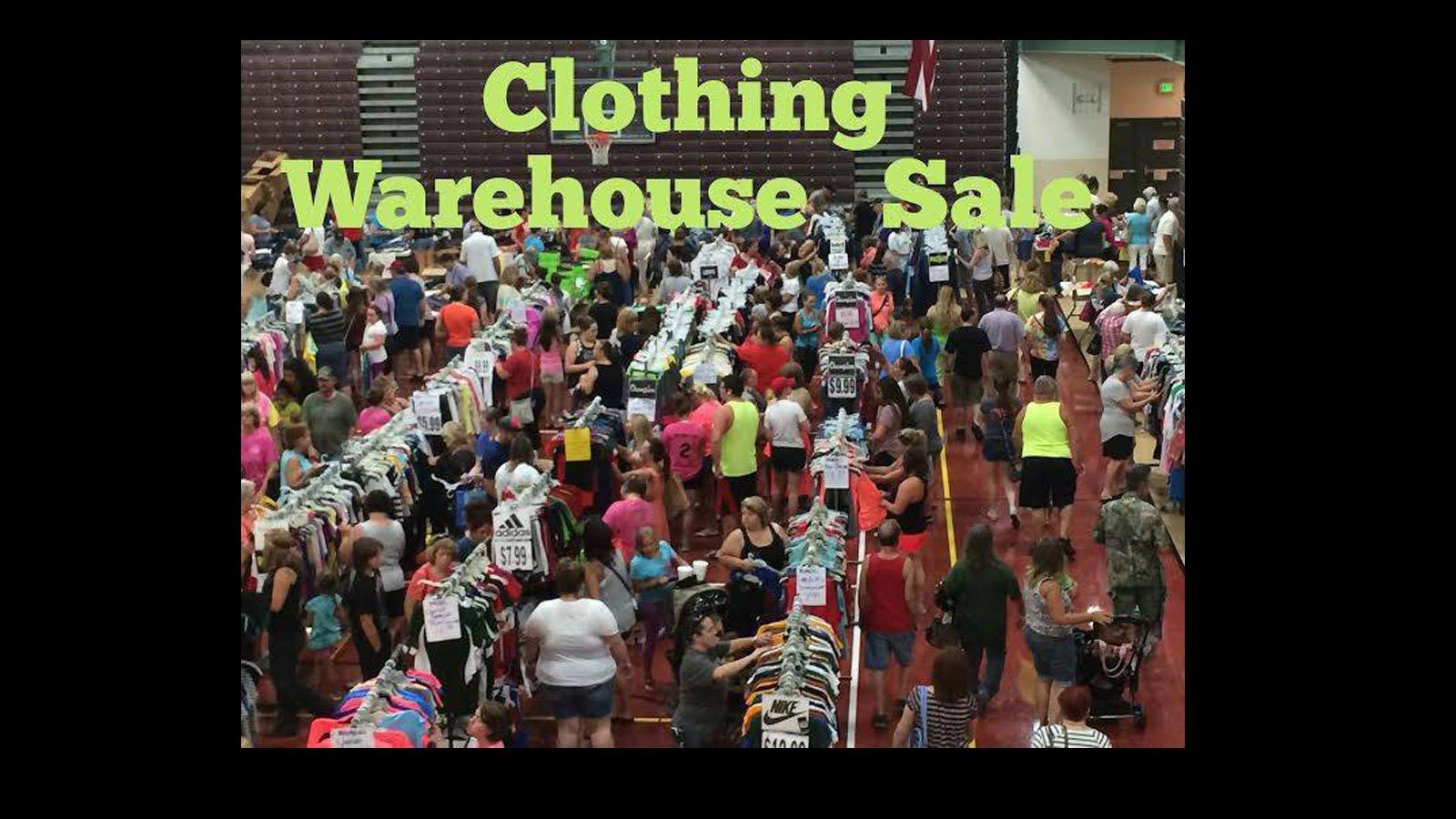 Warehouse Clothing Sale Wichita Falls Mpec